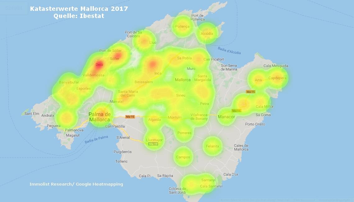 Mallorca_Katasterwerte_2017
