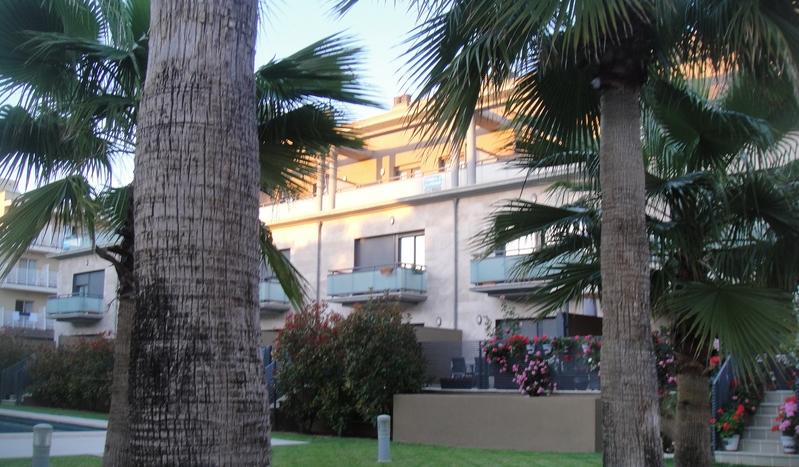 Wenn die Anlage einer Wohnung, wie hier in Palma de Mallorca, gepflegt ist, spricht das für den Kauf.