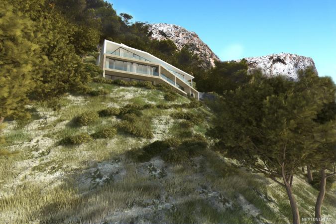 Grundstück mit Projekt in Puerto de Andratx