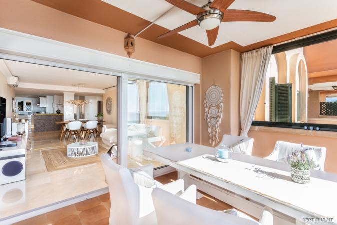 Terrasse/ Wohnzimmer