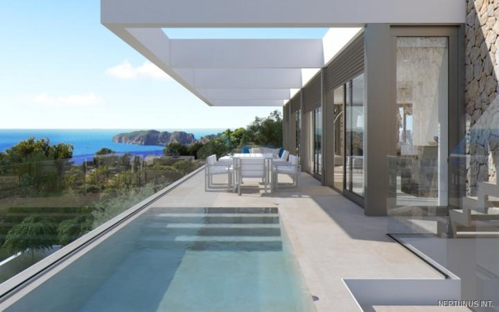 Villa mit Pool